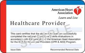 San Francisco American Heart Association teaches BLS classes.