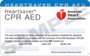 Bay Area CPR/AED Certification