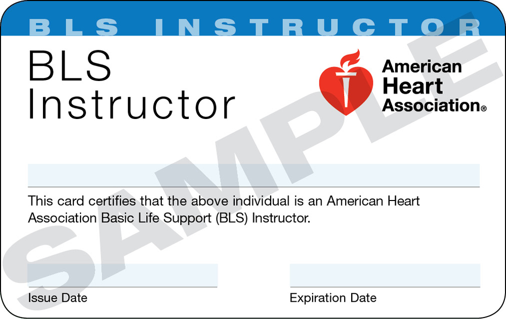 instructor bls cpr association heart blsd courses istruttore aha acls class become sessione pratica