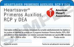 Clases de CPR en Español