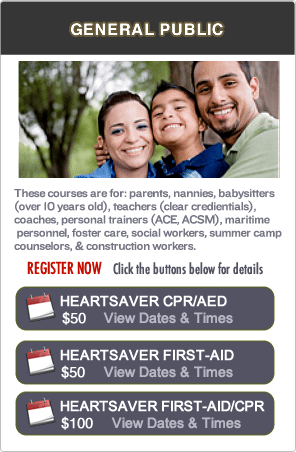 CPR Certification Classes in the SF Bay Area